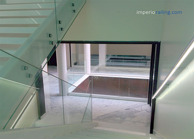Imperio Glass Railings Completed projects